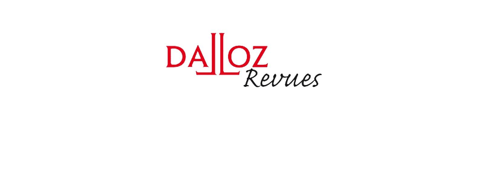 Dalloz Revues