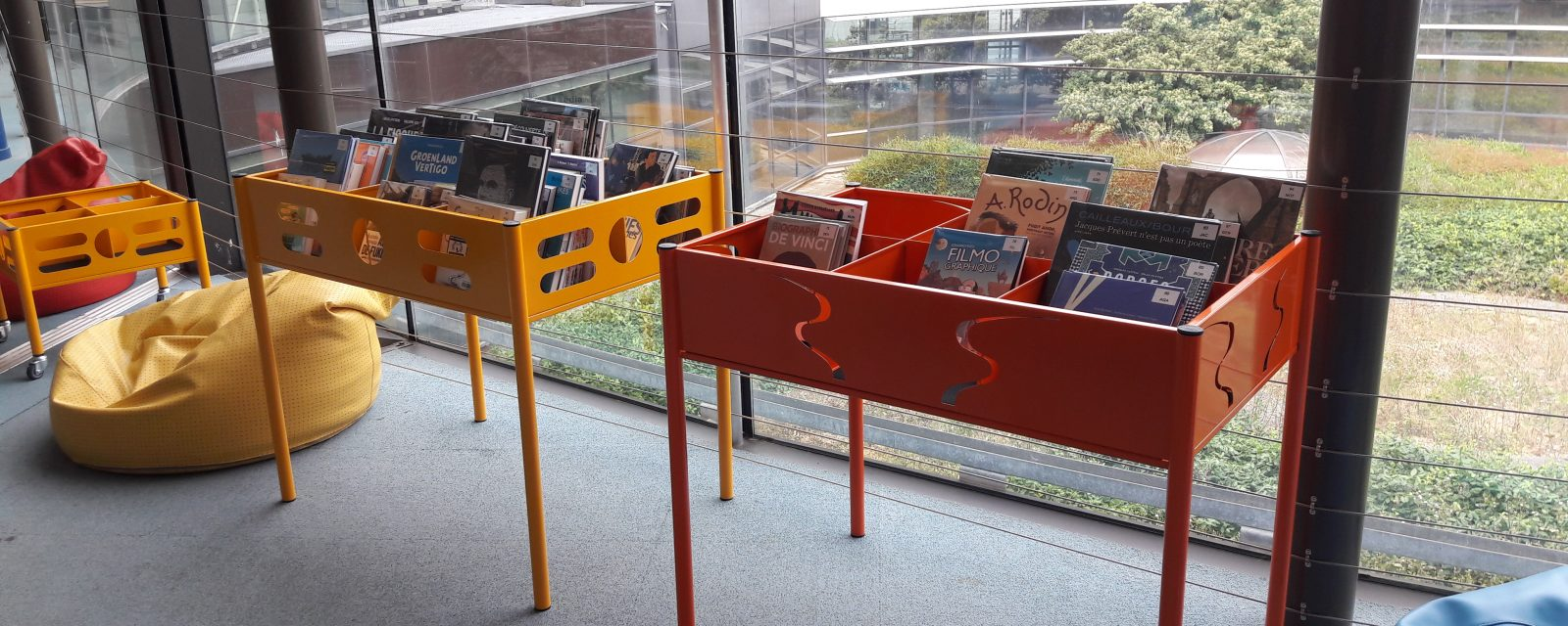 Des bandes dessinées à la bibliothèque