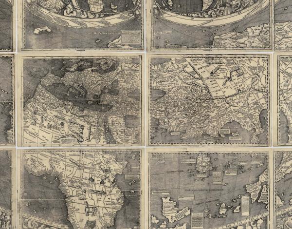 « Universalis Cosmographiæ » par Martin Waldseemüller (1507)