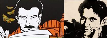 Quand la bande dessinée s'empare de la vie de deux grands écrivains et poètes hispanophones.