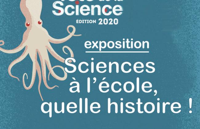 Exposition - Sciences à l'école, quelle histoire !