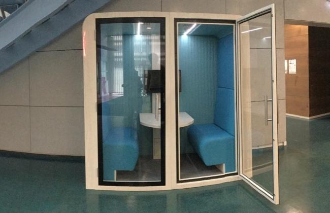 Du nouveau à la BU : une cabine visio
