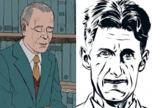 La bande dessinée s'empare de la vie de deux grands écrivains et visionnaires du milieu d'un XXème siècle.