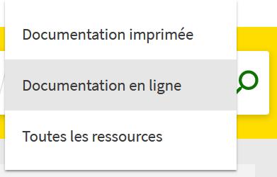 Consulter la documentation en ligne
